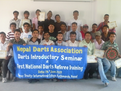 Group Photo after the National Darts referee training